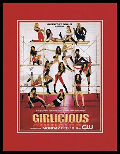 Girlicious 2008 CW Pussycat Dolls 11x14 Framed ORIGINAL Advertisement