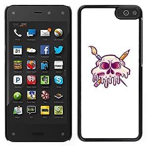 iKiki Tech / Estuche rígido - Arist cráneo - Amazon Fire Phone