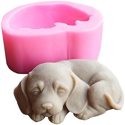 silicon mold cake mold silicone mold soap mold chocolate mold a* 3D bulldog mold 3D puppy mold cake mold silicone mould