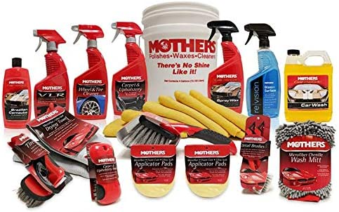 Mothers Car Care >> Mothers Mp Ccck Complete Car Care Detailing Bucket Kit