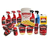 Mothers MP-CCCK Complete Car Care Detailing Bucket Kit
