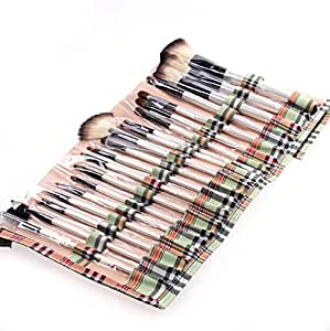 NEEWER?? 20 Pcs Goat Hair Makeup Brushes Set Kit w/ Handy Soft Case Cosmetic