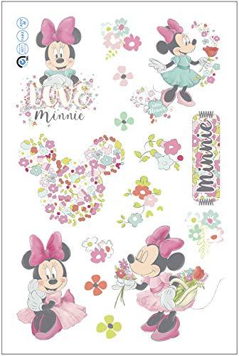 Disney Minnie Mouse Flowers Laptop Sticker/Wall Sticker/Flower Stickers