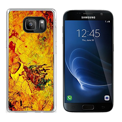MSD Samsung Galaxy S7 Clear case Soft TPU Rubber Silicone Bumper Snap Cases IMAGE ID: 3592597 dry oil paint on the painter s - Painters Protect Reviews