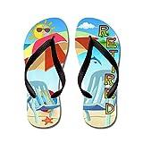 CafePress Tropical Retirement - Flip Flops, Funny Thong Sandals, Beach Sandals