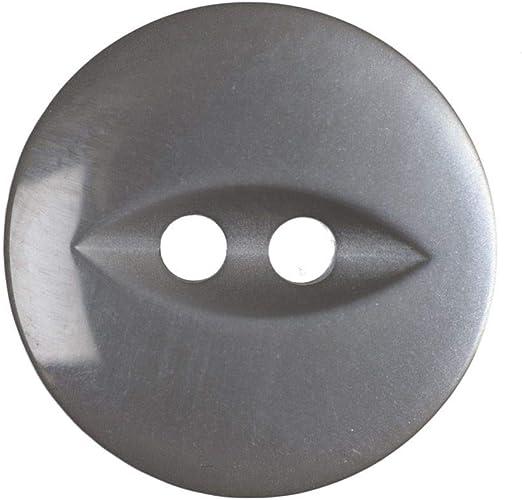 11mm 20 x Fisheye Buttons 90 - Royal Blue Size 18