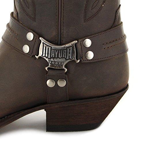 Et Mb013 Mayura Bottines Motta Homme Bottes Cowboy Ceniza Boots qvqaFTw