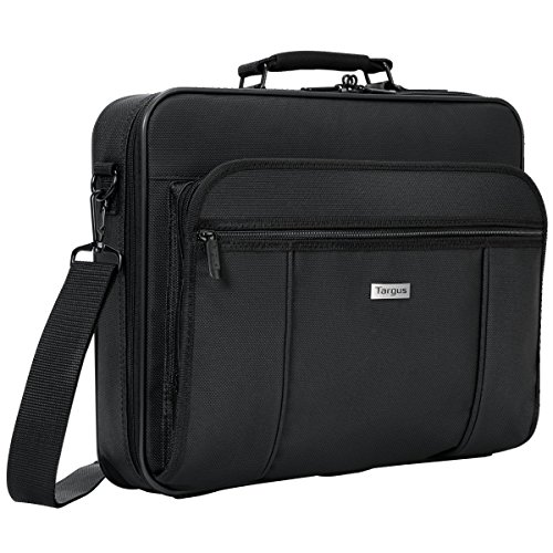 - Targus Premiere Case with Padded Sleeve for 15.4-Inch Laptop Compartment, Black (TVR300)