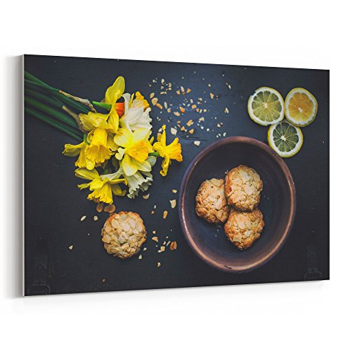 Westlake Art - Daffodil Bowl - 12x18 Canvas Print Wall Art - Canvas Stretched Gallery Wrap Modern Picture Photography Artwork - Ready to Hang 12x18 Inch (7E55-ECE09) ()