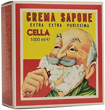 Cella Crema de Afeitar de Almendras - 1000 gr