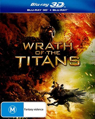 Wrath of the Titans 3D Blu-ray | NON-USA Format | Region B Import - Australia