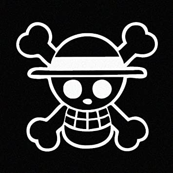 One Piece Luffy Straw Hat Pirate Anime Car Decal Sticker Cars