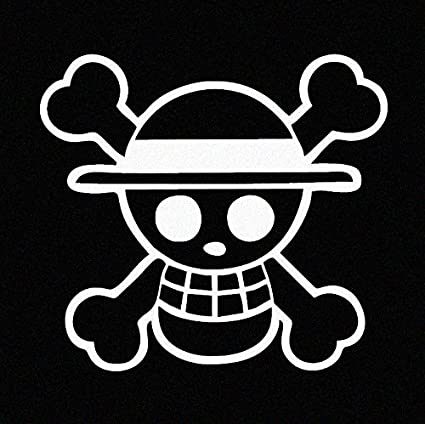 Amazon One Piece Luffy Straw Hat Pirate Anime Car Decal Sticker