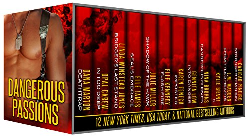 Dangerous Passions: 12 Tales of Contemporary Sexy Hot Alpha Heroes - Cops, Navy SEALs, Marines, Military, FBI Agents, Secret Agents, Police Captains, Spies, and More