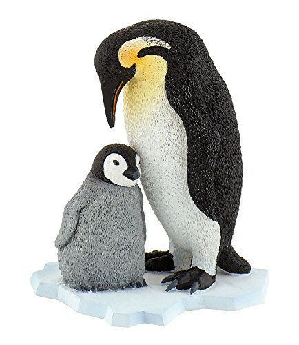 Bullyland Emperor Penguin Figurine With Young