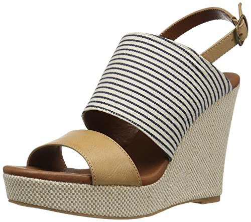 Sandal Sailor Moxy Women's Mojo Dolce by Wedge Blue 7T8wWqY