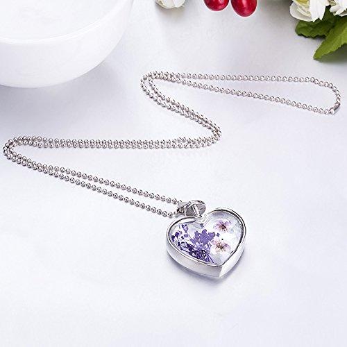 Demarkt Herz Halskette Anh/änger Kette Mode Necklace Mode Schmuck Geschenk Accessoires f/ür Damen