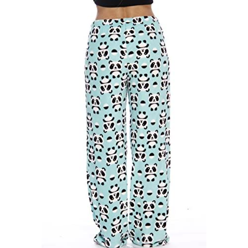30eb3d19a97c Just Love Women s Cute Character Print Plush Pajama Pants - Petite ...