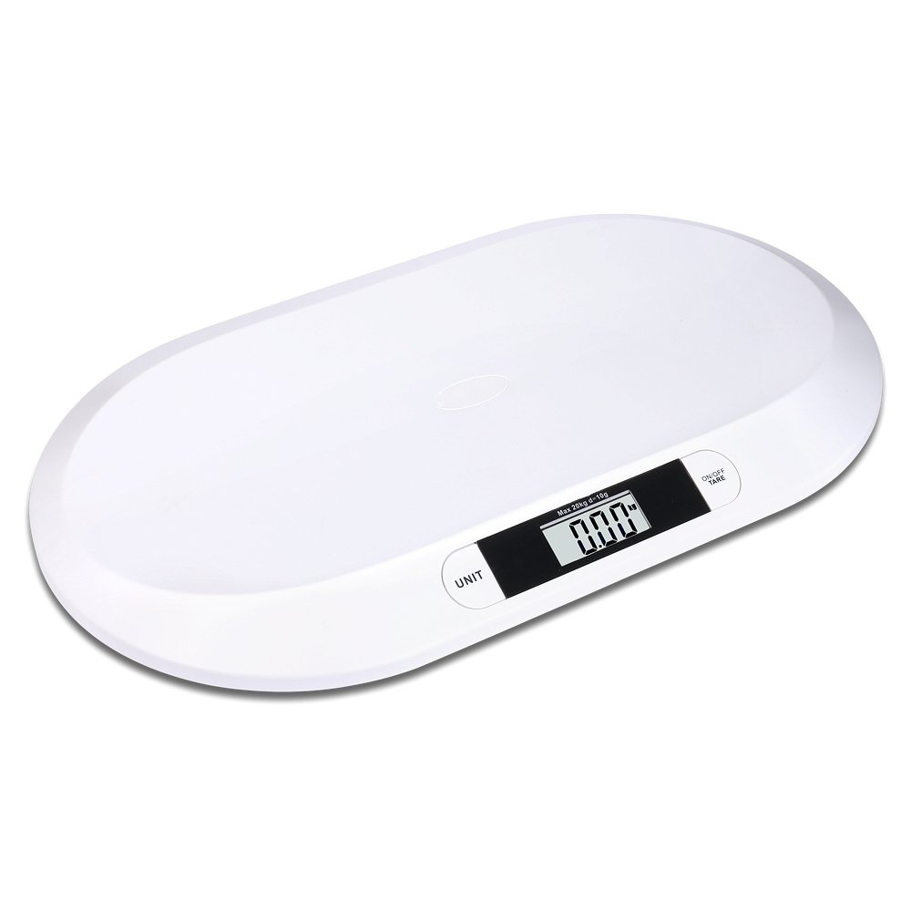 S/O® Balance digitale pour bébé pesant jusqu'à 20kg, pèse-bébé, pèse-animaux, pèse-nourrisson product image