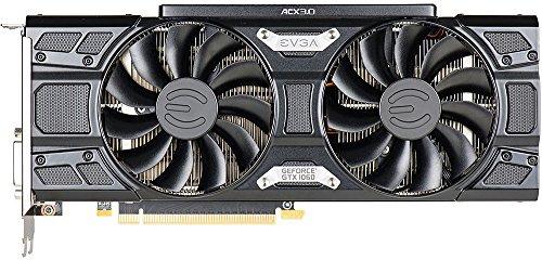 EVGA - NVIDIA GeForce GTX 1060 6144MB GDDR5 PCI Express 3.0 Graphics Card - Black (06G-P4-6264-KB)