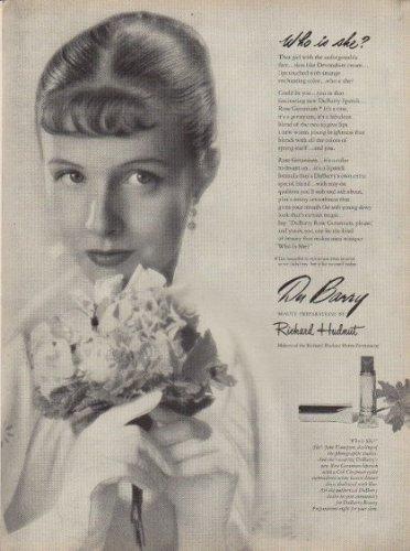 (1949 DuBarry Lipstick Ad