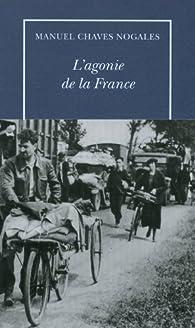 L'agonie de la France par Manuel Chaves Nogales
