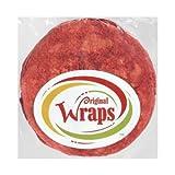 Mexican Original Sun Dried Tomato Basil Flavored Press Flour Tortilla Wraps, 33 Pound -- 1 each.