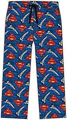 100/% Cotone Immagini Super morbide Batman Taglie S-XL Superman F4S Pantaloni Pigiama da Uomo Taglie Forti Star Wars//Marvel Comics