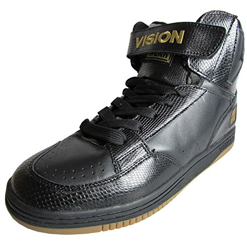 Syn Street Wear Mens Mc 14000 Mode Sneaker Svart / Svart Orm