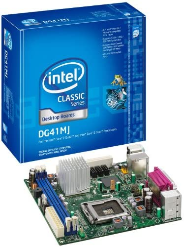 Intel DG41MJ, 10 Pack - Placa Base (10 Pack, Intel, LGA 775 (Socket T), Intel® Pentium®, 667,800 MHz, 8 GB, 1.8 V): Amazon.es: Informática