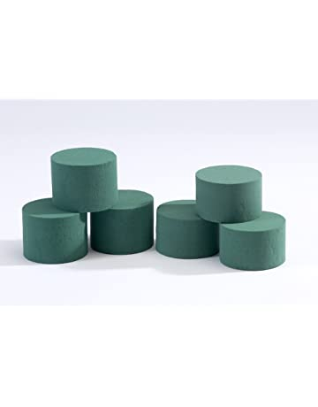 5 x Oasis Ideal Round Cylinder Wet Foam for Florist Floral Craft Flowers Floristry Designs &