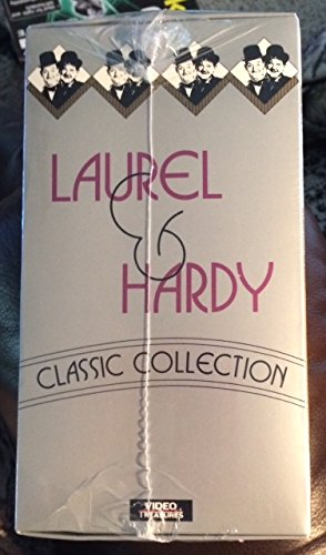 Laurel & Hardy Classic Collection (Sapa at Sea, Swiss Miss, A Chump at Oxford, Sons of the Desert, Pack up your Troubles) [VHS] (Laurel And Hardy Pack Up Your Troubles)