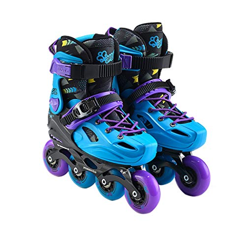 非常に育成シミュレートするLIUXUEPING ローラースケート、 スケートセット、 点滅プーリーシューズ、 子供用のインラインスケート、 初心者ローラースケート