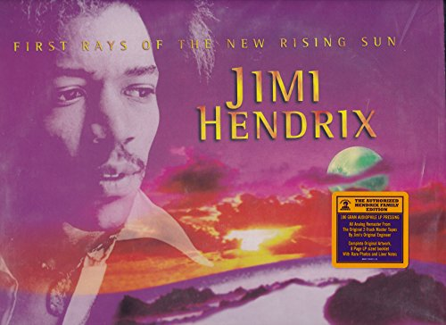 Jimi Hendrix - First Rays Of The New Rising Sun - 180 Gram Audiophile Pressing - 2-LPs - All Analog Remaster From Original Master - Master Tapes Original