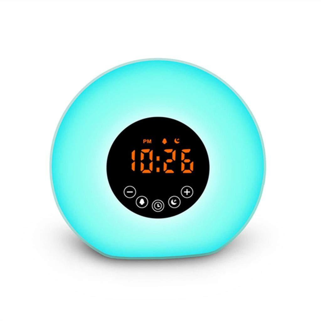 Beisoug Colors Sunrise Reloj Despertador Luz de Despertador ...