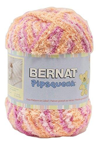 Bernat Pipsqueak Big Ball Yarn 5 Bulky Gauge  - 8.8 oz -  Peach Swirl  - Baby Soft Yarn Machine Wash & (Chunky Peach)
