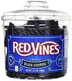 Red Vines Black Licorice Twists 3.5lb Jar