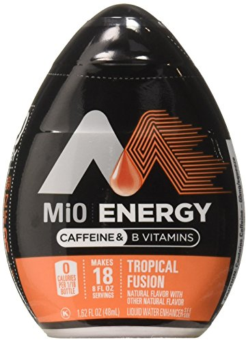 MIO Energy Tropical Fusion Liquid Concentrate (1.62fl.oz Bottles, Pack of 12)