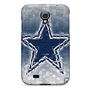 Samsung Galaxy S4 MTS8974FTqQ Custom High Resolution Dallas Cowboys Pattern Shock Absorbent Hard Phone Cases -KellyLast
