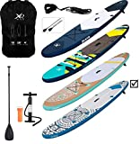 XQ MAX INFLATABLE SUP PADDLE BOARD KAYAK 10FT WITH ACCESSORIES (Tribal XQ Max)