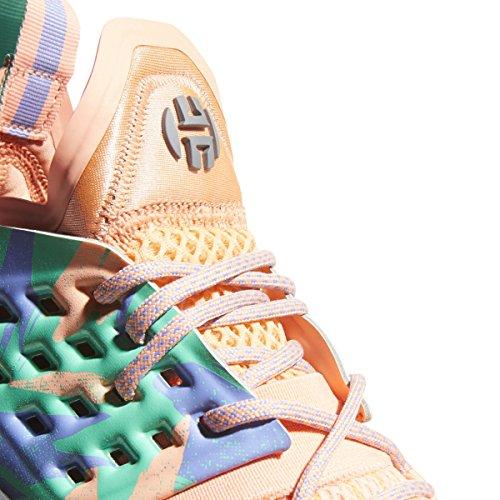 Adidas Harden Vol. 2 All Star Pak California Dreamin Schoen Junioren Basketbal Krijt Koralen-hi Res Groen-wit