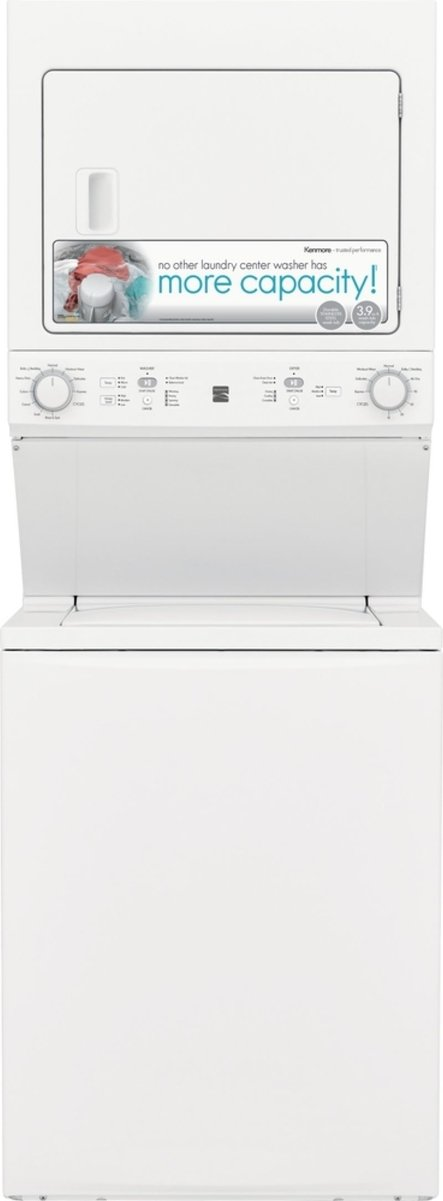 Kenmore 71732 3.9 cu ft Top Load Laundry Center with Agitator and ...