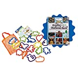 Cooking with Cookbook and 16-piece Cookie Cutter Collection