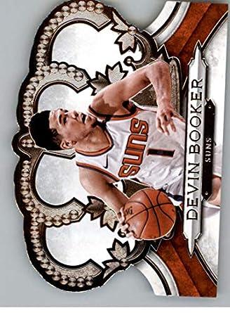 2c1d789f42ba6 2018-19 Crown Royale Basketball #155 Devin Booker Phoenix Suns Official NBA  Basketball Card