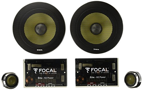 Focal KIT ES165KX2 K2 Power Series 6-1/2' Component Speaker System