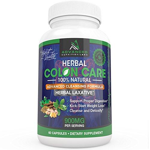 Herbal Colon Care Capsules Supplement