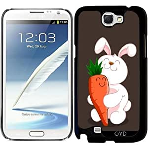 Funda para Samsung Galaxy Note 2 (GT-N7100) - Luv Conejito by AnishaCreations