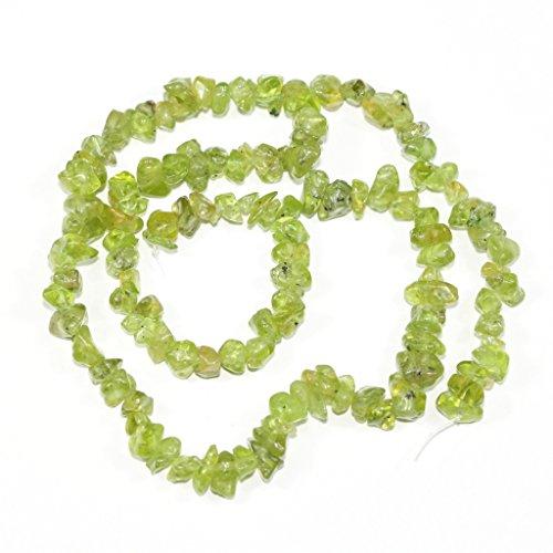 Peridot Chip Beads - 2