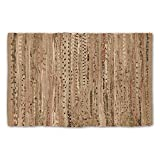 """DII Home Essentials Rag Rug for Kitchen, Bathroom, Entry Way, Laundry Room and Bedroom, 20 x 31.5"""" Taupe"""