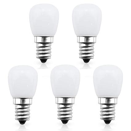 Bonlux 12v S6 Led Indicator Light Bulb E12 Candelabra Base 1w S6